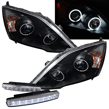 Amazon.com: 2007-2011 Honda Crv Dual Ccfl Halo Projector ... on
