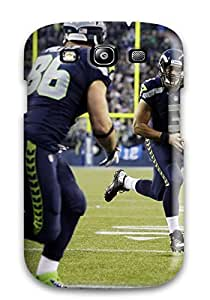Slim Fit Tpu Protector Shock Absorbent Bumper Seattleeahawks Case For Galaxy S3