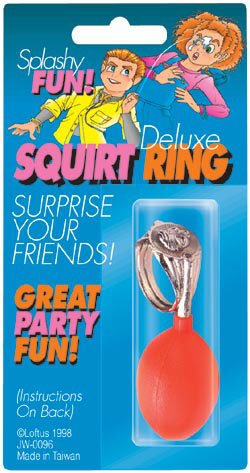 Squirt Ring Joke - Squirt Ring Deluxe