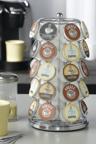Image of Nifty Carousel for 35 K-Cups, Chrome