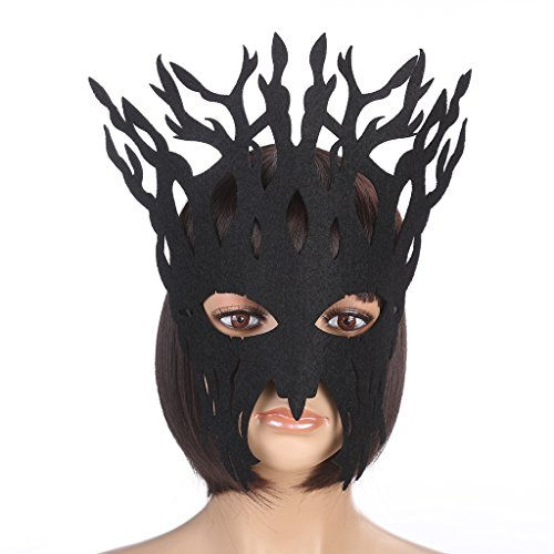 Vpang Elegant Mysterious Tree Mask Party Mask for Halloween Masquerade Ball Mardi Gras Christmas Easter Cosplay Party -