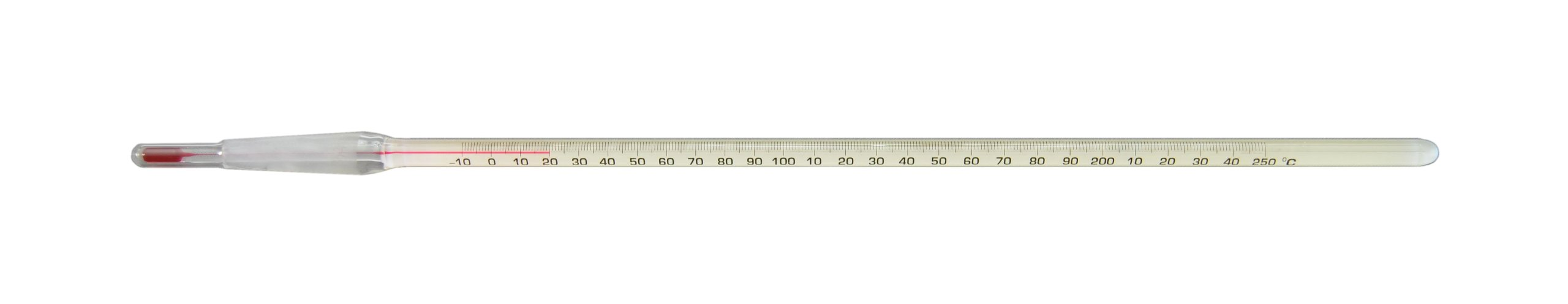 Thermco ACCST1801150S Precision Red Spirit Filled 10/18 Standard Taper Joint Thermometer, -10° to 150°C Range, 1°C Division, 25mm Immersion by THERMCO (Image #1)