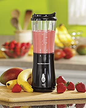 Hamilton Beach (51101ba) Personal Blender With Travel Lid, Single Serve, For Shakes & Smoothies, Black 2