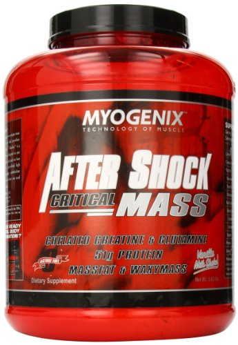 Myogenix Aftershock Critical Mass Vanilla Milk Shake, 5.62 Pounds
