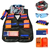 UWANTME Tactical Vest Kit for Nerf Guns N-Strike Elite Series