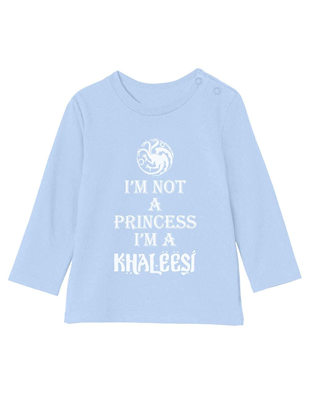 Camiseta bebé Unisex Manga Larga - Im Not A Princess Im A ...