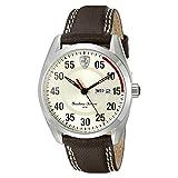 Automotive : Ferrari Men's 0830175 D 50 Analog Display Quartz Brown Watch
