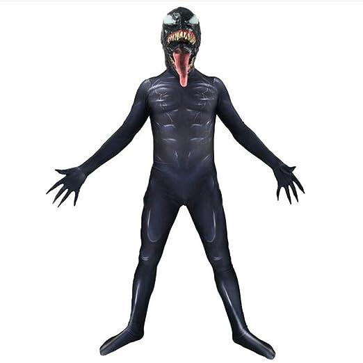 DFRTYE Traje De Cosplay De Venom Spiderman, Disfraz ...