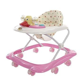 ZHMXHM Andador para Bebés con Frenos Anti-vuelco Ajustable con ...