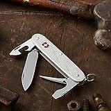 Victorinox Swiss Army Pioneer Pocket Knife,Silver