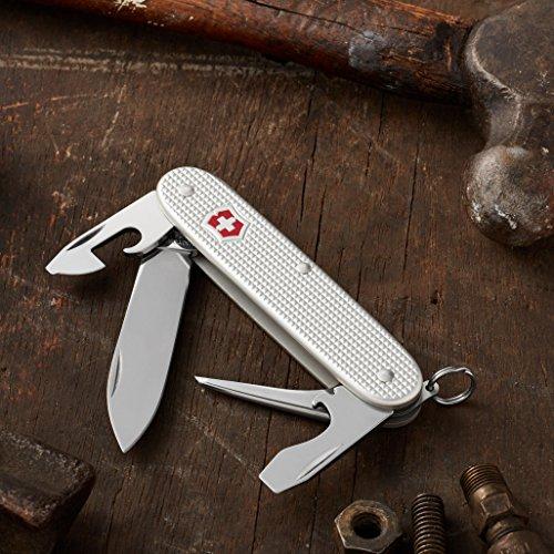 Victorinox Swiss Army Pioneer Pocket Knife,Silver Alox,One Size by Victorinox (Image #2)