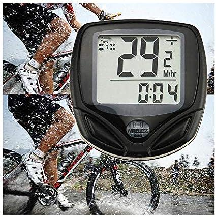 1Pc Waterproof Bycicle Odometer Bike Tachometer Digital LCD Display Speedometer⭐