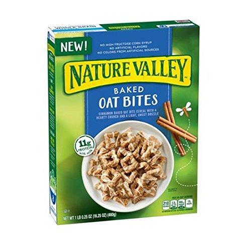 General Mills, Nature Valley, Baked Oat Bites Cereal, 16.25oz Box (3 Pack)