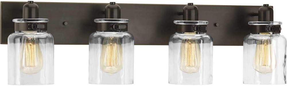 Bathroom Vanity Light Fixture - Bath Interior Lighting (Antique Bronze, 4 - Lights)