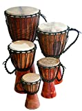 Djembe Beginner Plain, 24'' tall, 9-10.5'' head