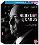 House Of Cards: Seasons 1-4 [Blu-ray]