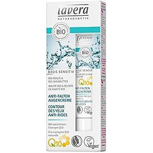 lavera Contour des Yeux Anti-Rides à la Coenzyme Q10 – Vegan – Cosmétiques naturels – Ingrédients végétaux bio – 100…