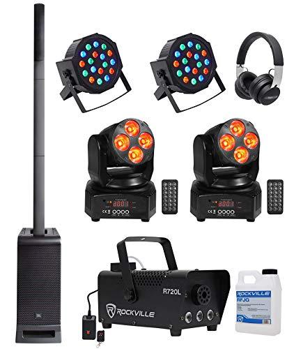 JBL DJ Package w/EON One PRO Array Speaker+Sub+Fogger+ Pars+