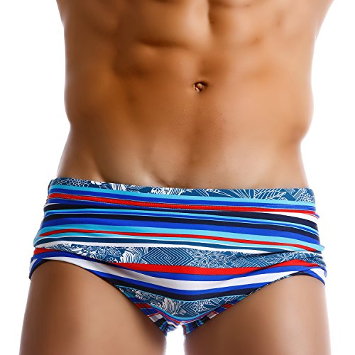 Taddlee Men Swimwear Sexy Swim Briefs Bikini Brazilian Classic Cut Swimsuits (M)