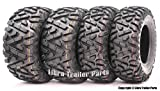 Set of 4 New WANDA ATV/UTV Tires 25x8-12 Front & 25x10-12 Rear /6PR P350 - 10163/10165 …