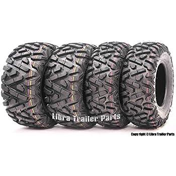Set of 4 New WANDA ATV/UTV Tires 23x8-11 Front & 24x9-11 Rear /4PR P350 - Deep Solid Tread …