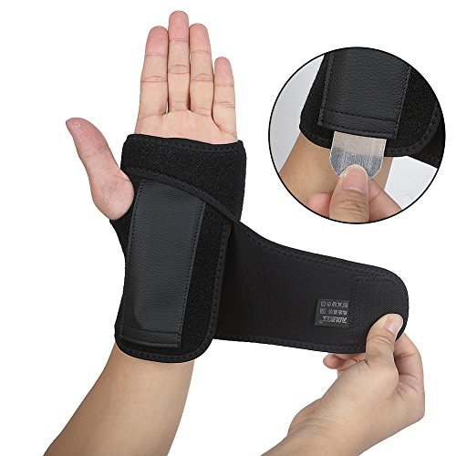 (DOB AOLIKES Carpal Tunnel Wrist Brace with Removable Splint and Adjustable Support Wrap)