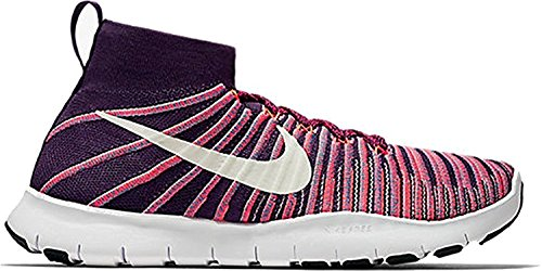 Nike Men's Free TR Force Flyknit Running Shoes (12, Grand Purple/White)