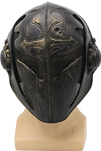 FMA Men's Templar K Cosplay Mask (28cm by 23cm)