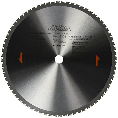 PORTER-CABLE 14103 14-Inch 72 Tooth Metal Cutting Saw Blade with 1-Inch (Porter Cable Metal)