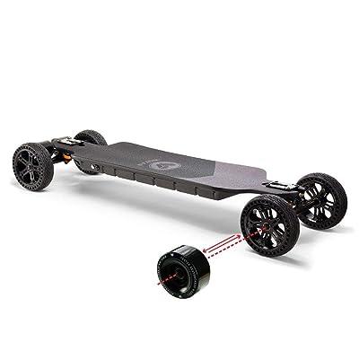 Vestar Black Hawk | 2in1 | All Terrain Electric Skateboard | Dual Motor : Sports & Outdoors