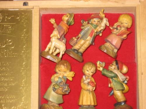 Anri – Ferrandiz Music Box Set of Miniature Figurines