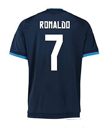 lowest price 527dc a85ae Ronaldo #7 Adidas Real Madrid Third Soccer Jersey 2015/2016 YOUTH. (YXL)
