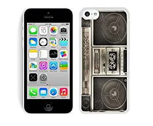 MMZ DIY PHONE CASETPU iphone 6 plus 5.5 inch White Case Boombox Classical Designs Soft Silicone Mobile Phone Protective Cover
