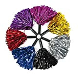 Metallic Foil Pom-Poms Assortment (1 dz)