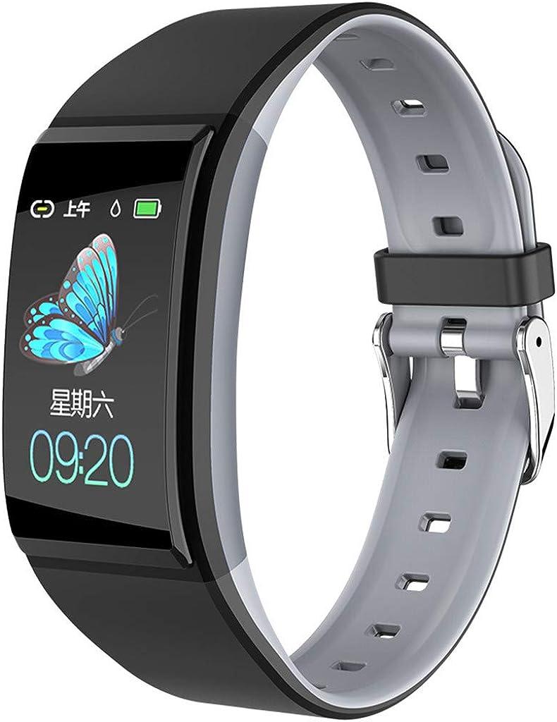12shage Smartwatch,Podómetro Deportivo Medidor de Frecuencia ...