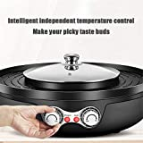 4YANG Electric Hot Pot Grill Indoor 2200W 2 in 1