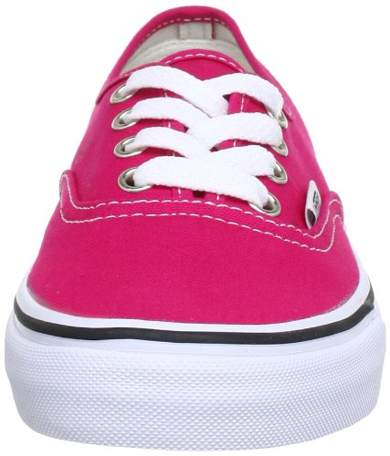 Vans U AUTHENTIC VSCQ7Z3 Unisex-Erwachsene Sneaker Pink (bright rose/true white)