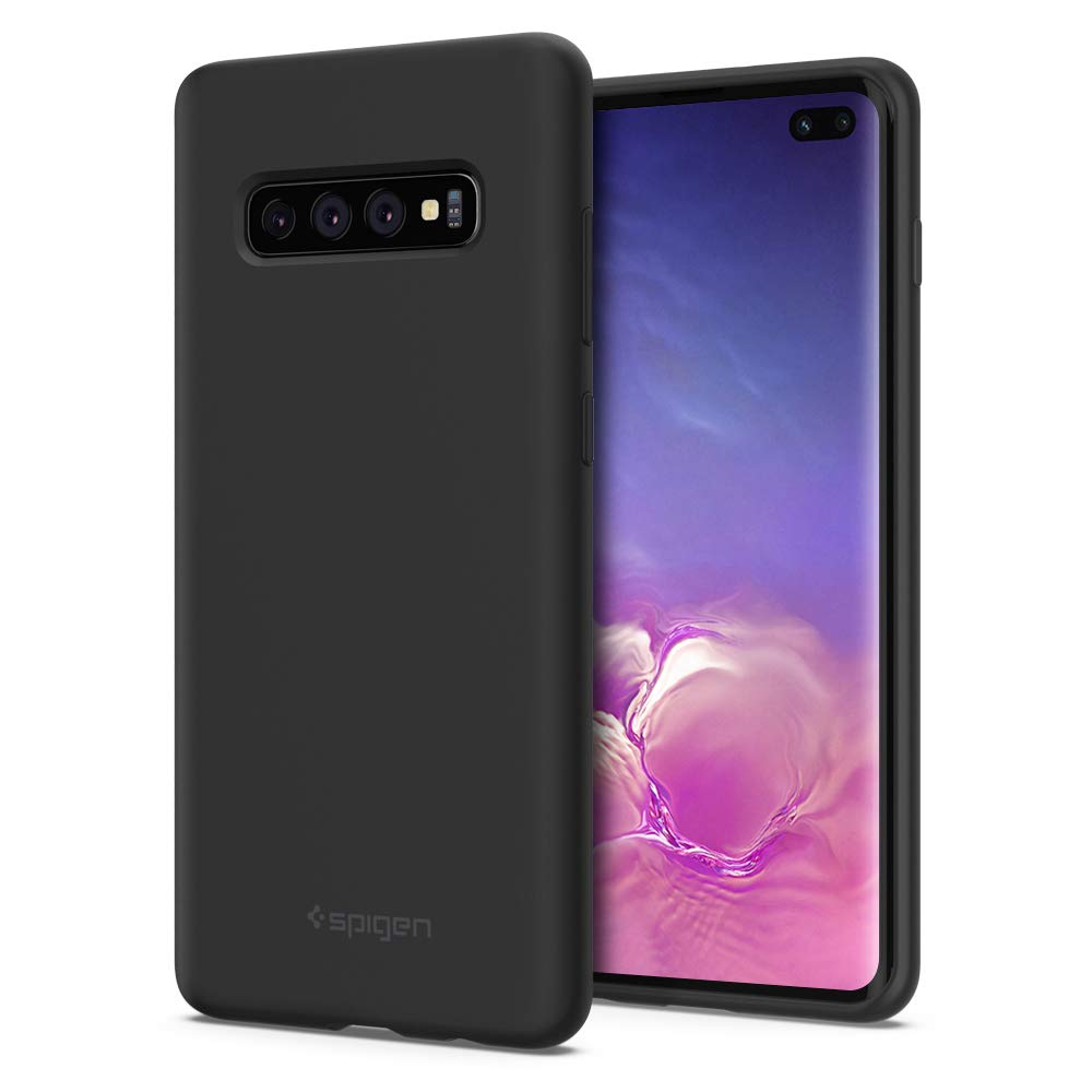 Funda Spigen Samsung S10 Plus [black] Silicone Fit