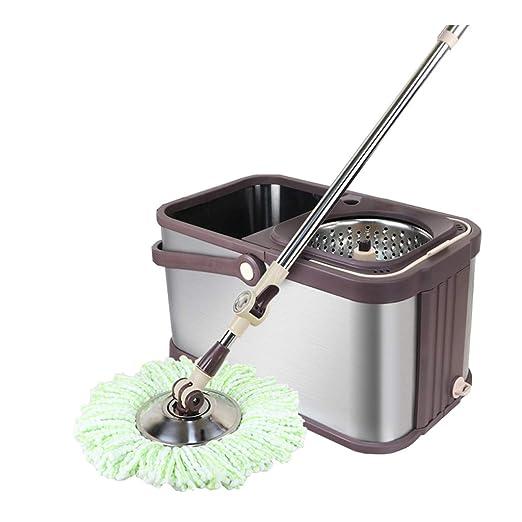 LLRDIAN Fregona rotativa para Lavar el hogar Lavadora de Manos ...