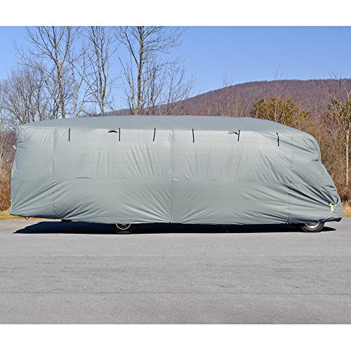 Budge-Premier-Class-C-RV-Cover-Fits-Class-C-RVs-up-to-24-Long-Gray-Polyproplyene