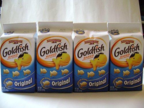 Gold Fish Original 6.6 Oz X 4 Packs