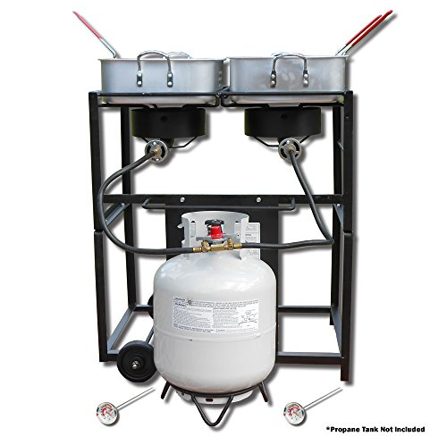 Rectangular Outdoor Propane Cooker - 2