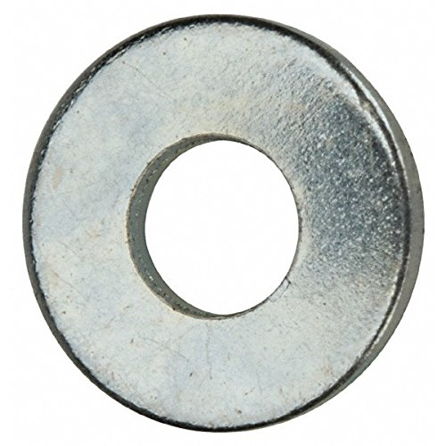 Marson, SS-12-500 Back-Up Washer 1/4 Inch, 0.265 Inch ID x 0.5 Inch OD x 0.062 Inch Thick, RND, Steel, Zinc, 500/Pack by Marson Back-Up Washers
