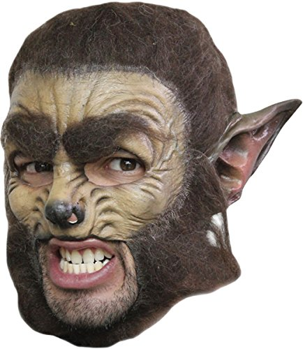 WOLF DLX CHINLESS ADULT MASK
