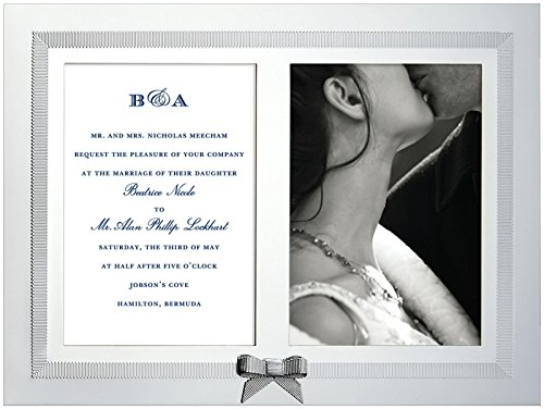 kate spade new york Grace Avenue Double Invitation Frame - Picture Perfect Bridal Shower Invitations