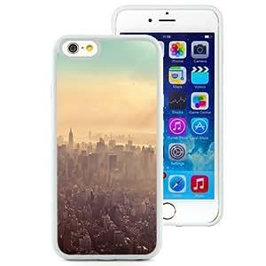 NEW Unique Custom Designed iPhone 6 4.7 Inch TPU Phone Case With New York City Sunrise Haze_White Phone Case