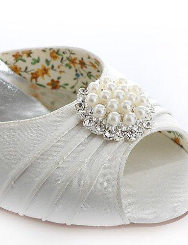 ShangYi Schuh Damen - Hochzeitsschuhe - Absätze / Zehenfrei / Spitzschuh - Sandalen - Hochzeit / Kleid / Party & Festivität -Rosa / Lila / Rot / , 3in-3 3/4in-pink