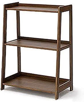 zwixs Decoración/Armario/Soporte Estilo japonés Creative Incorporated Estantería de almacenamiento Escalera Estante de madera maciza Aterrizaje Estantería trapezoidal de estanterías múltiples Cap: Amazon.es: Bricolaje y herramientas