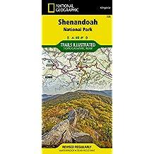 228 Shenandoah National Park, Virginia: Outdoor Recreation Map