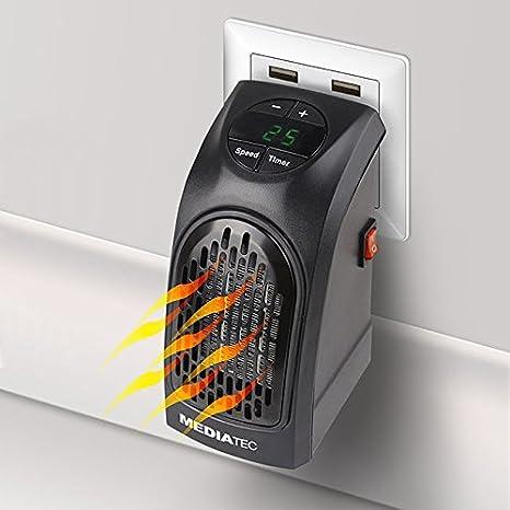 Mediatec - Pocket Heater Ph-01 - Estufa eléctrica portátil de bolsillo, de bajo consumo: Amazon.es: Hogar